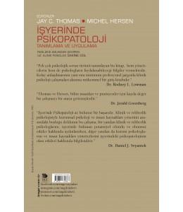 İşyerinde Psikopatoloji; Tanımlama ve Uygulama